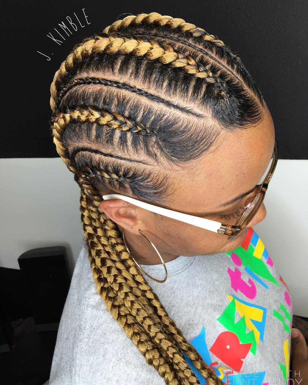 Stupendous 70 Best Black Braided Hairstyles That Turn Heads In 2017 Short Hairstyles Gunalazisus