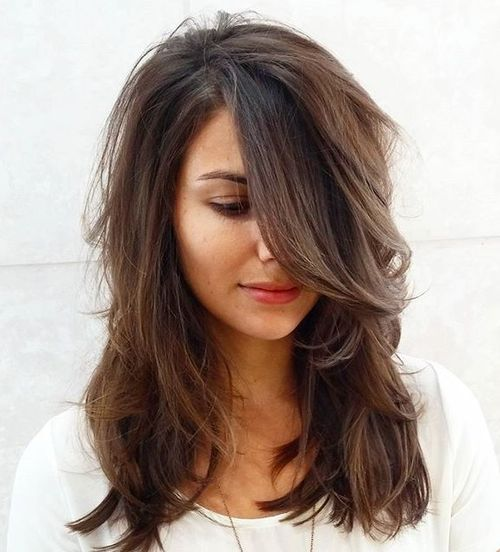 layered medium haircuts for hair 70 brightest medium length layered haircuts and hairstyles 6167