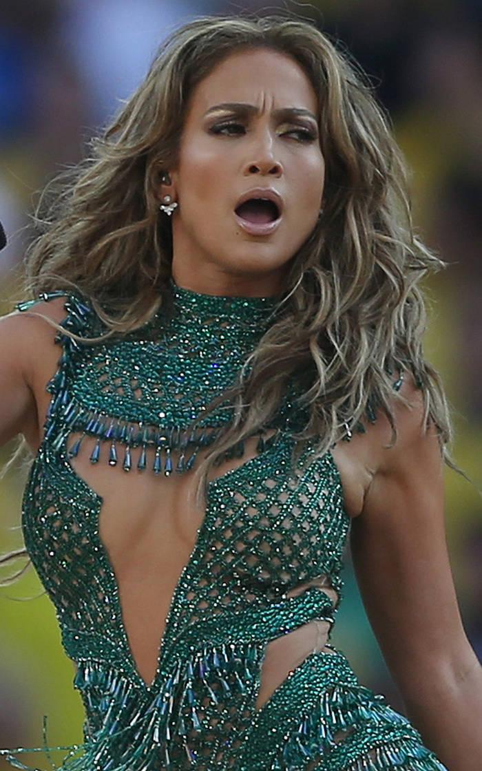 Jennifer Lopez Light Brown Hair With Blonde Highlights