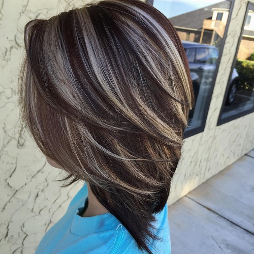 60 hairstyles featuring dark brown hair with highlights pmusecretfo Image collections