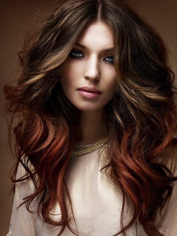 28: Brown Hair With Copper Highlights For A Fabulous Dimensional ...