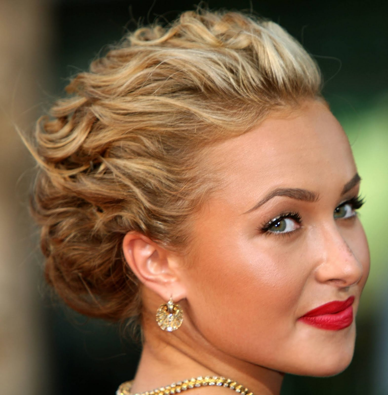 Admirable Updo Short Curly Hairstyles Best Hairstyles 2017 Short Hairstyles Gunalazisus
