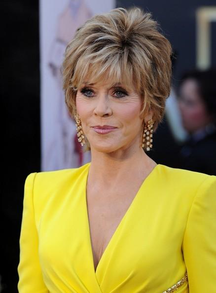 Short Hairstyles Jane Fonda | Short Pixie Haircuts