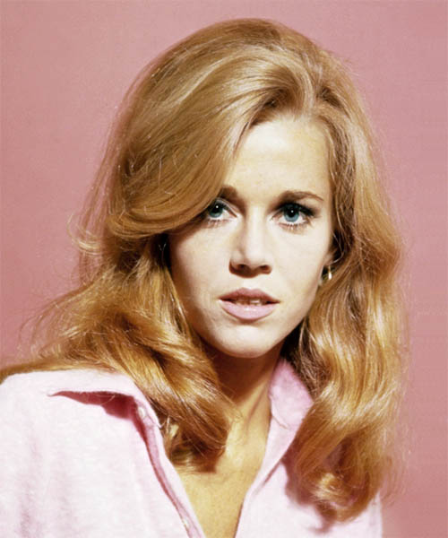 Jane Fonda long hairstyle