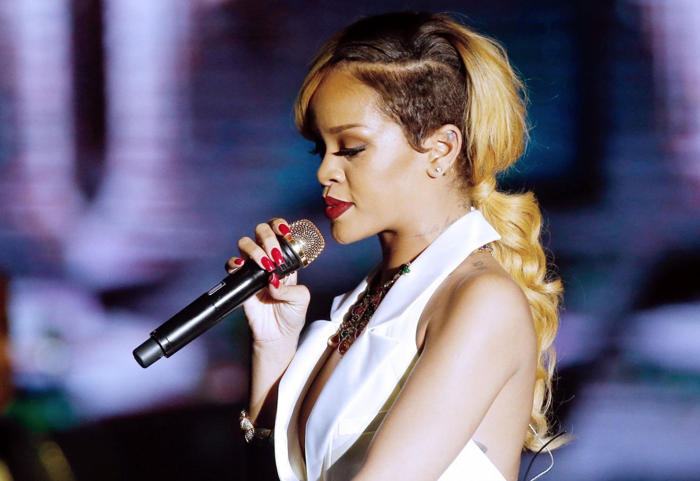 Rihanna Long Mohawk