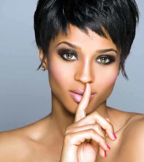 short hairstyles for fine hair black women