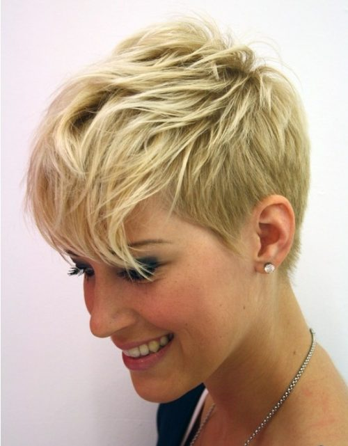 short layered pixie cut fine hair