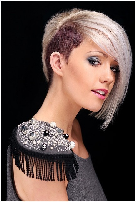 trendy blunt short haircuts