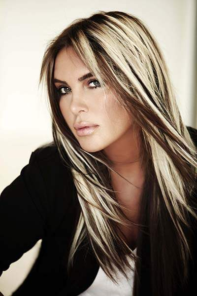 ... The Most Elegant Solution For Dark Brown Hair With Blonde Highlights