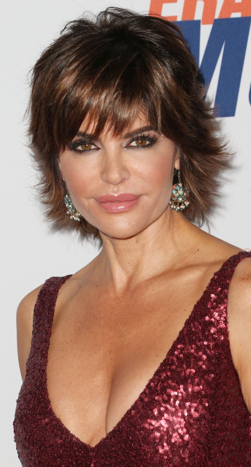 Lisa Rinna Shag Haircut