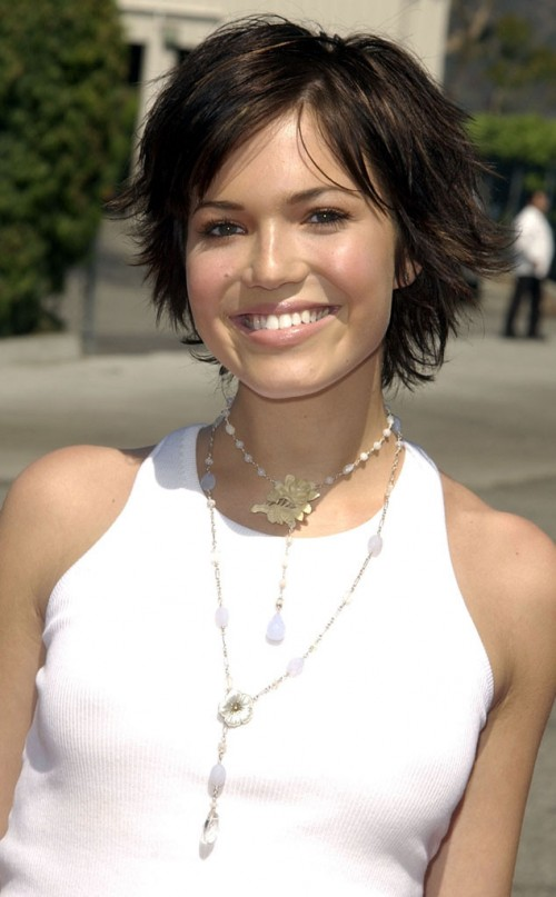 2013 Short Hairstyles Mandy Moore   Short Hairstyle 2013