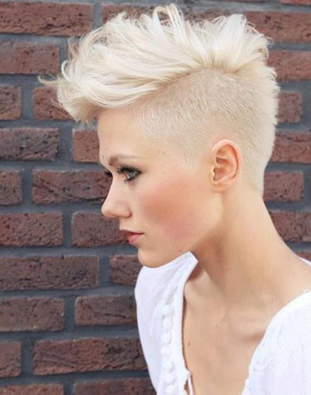 Undercut Hairstyle for Short Hair Women