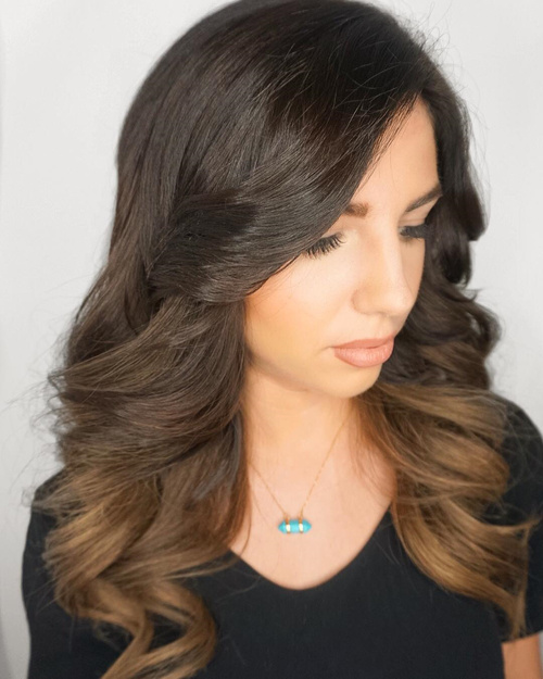 The 50 Sizzling Ombre Hair Color Solutions for Blond ...  The 50 Sizzling...