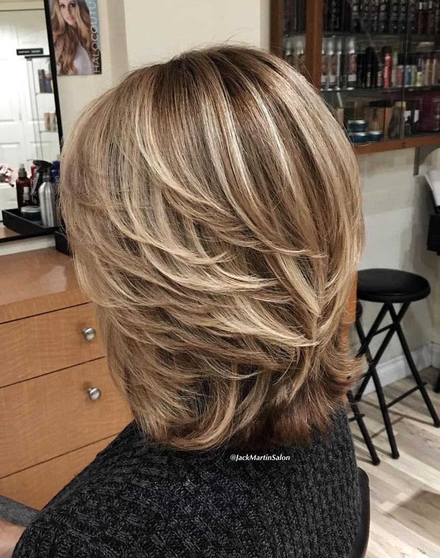 Blonde Short Haircut Over 50