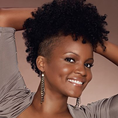 Short Black Natural Mohawk Hairstyles