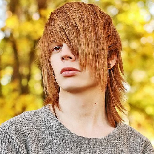 Men S Emo Hairstyle