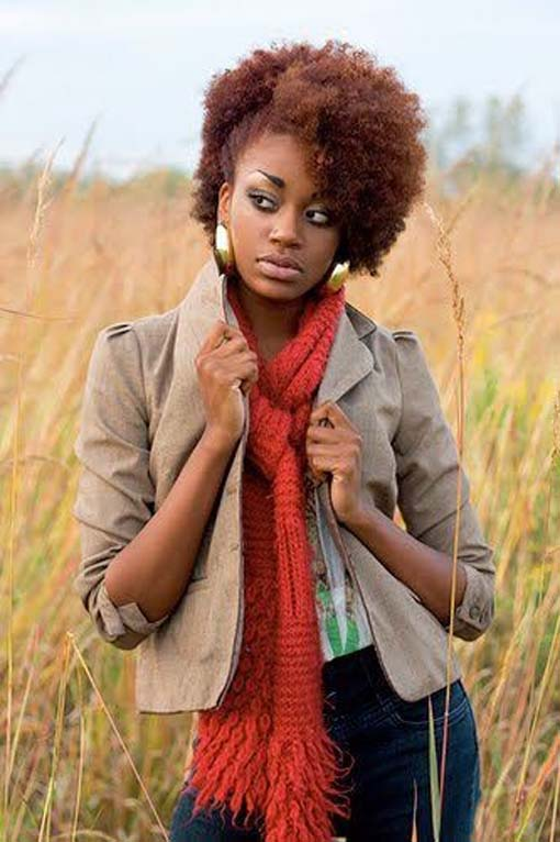 Pleasing 20 Most Inspiring Natural Hairstyles For Short Hair African Curls Short Hairstyles Gunalazisus