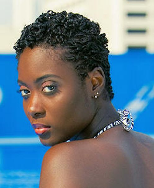 twists for short black hair