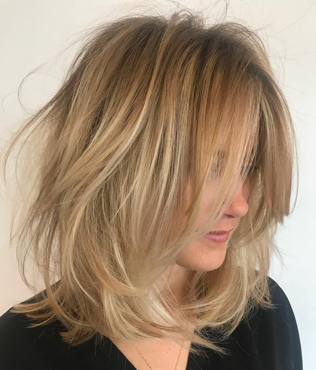 easy to style haircuts for fine hair 70 devastatingly cool haircuts for thin hair 1271 | 17 tousled blonde bob hairstyle