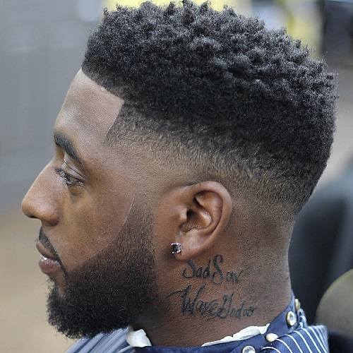 Incredible 50 Stylish Fade Haircuts For Black Men In 2017 Hairstyles For Men Maxibearus