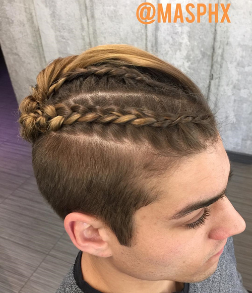 hair braiding styles for men with short hair 20 new cool braids styles for you can t miss 2106 | 13 top braid and short sides style for men