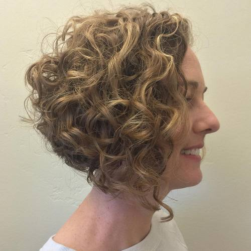 a line haircut for curly hair 20 hairstyles for naturally curly hair in 2018 3331