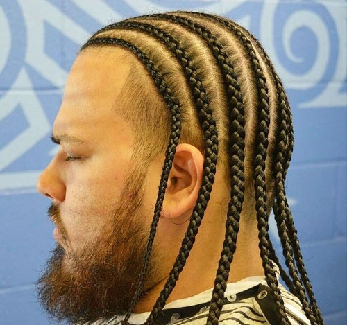 cornrows ponytail hairstyles : Black Mens Hairstyles Braids For Men Cornrow Pinterest ...