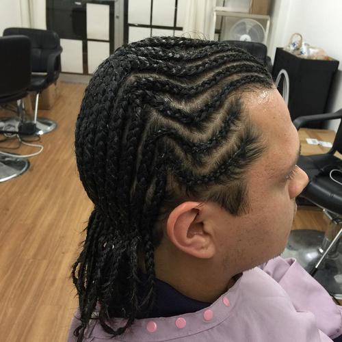 Excellent 2 French Braids Men Hairstyles For Women Draintrainus