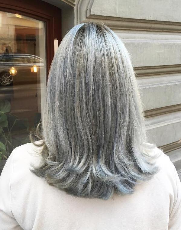 Grey Hair Styles Pictures 60 Gorgeous Hairstyles For Gray Hair