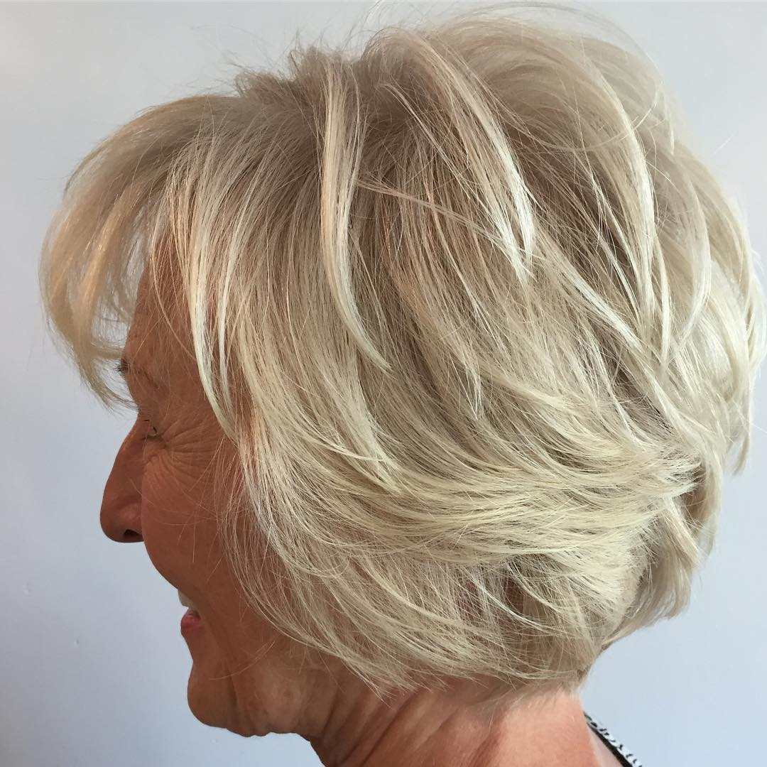 Remarkable Hairstyles And Haircuts For Older Women In 2017 Therighthairstyles Short Hairstyles For Black Women Fulllsitofus