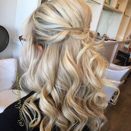 Medium Length Wedding Hairstyles: 20 Lovely Wedding Guest Hairstyles