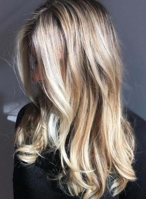 45 Classy Hairstyles for Long Blonde Hair