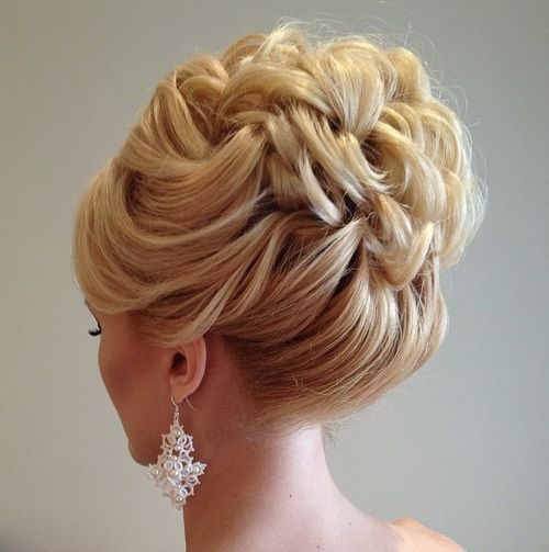 Updo Curly Hairstyles Wedding: 40 Chic Wedding Hair Updos For Elegant Brides