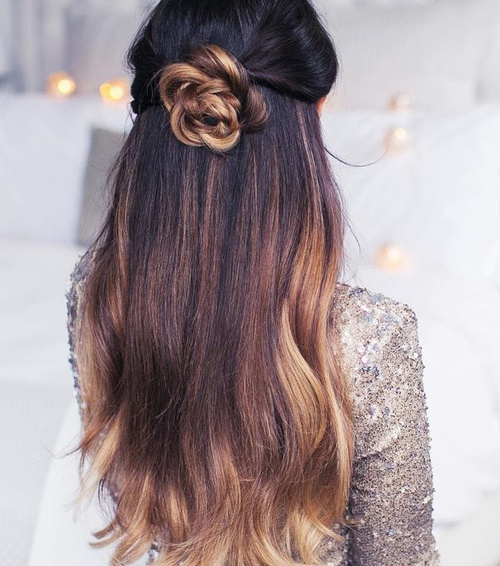 37 Beautiful Half Up Half Down Hairstyles For The Modern: 45 Fabulous Half Updos