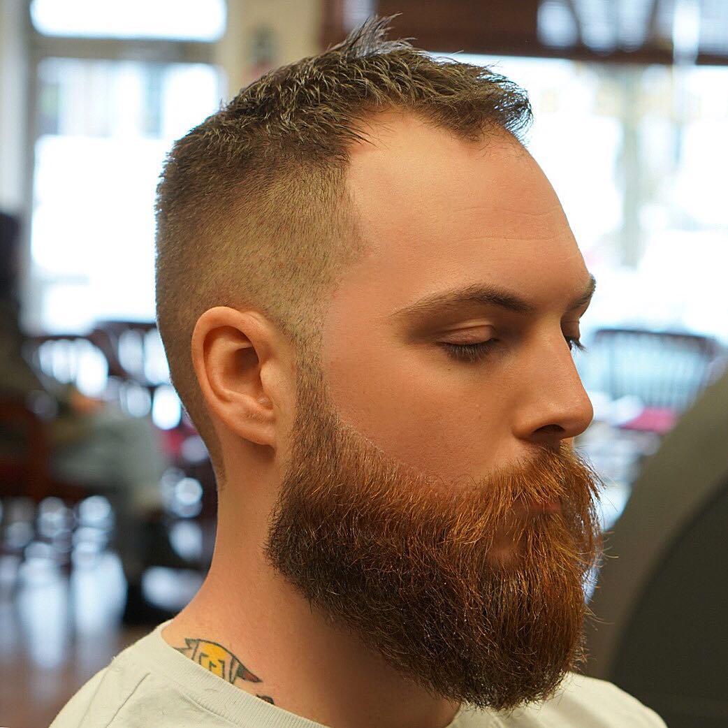 Haircuts guys balding short for 8 Mens