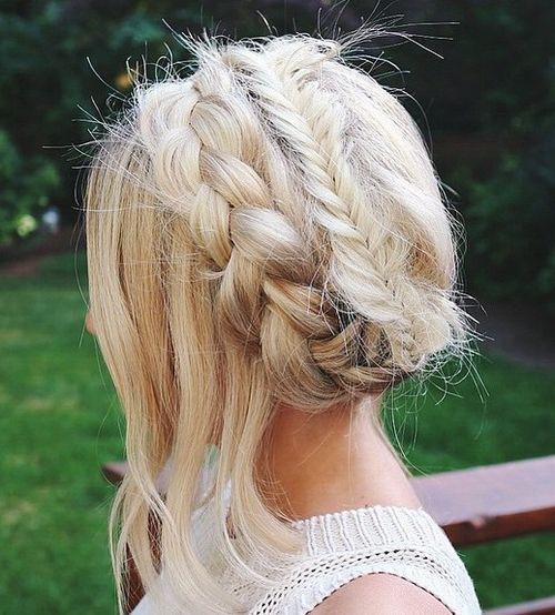 Braided Crown Wedding Hairstyle: 60 Crown Braid Hairstyles For Summer