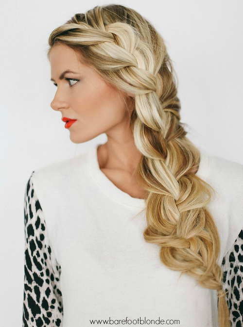 Stylish Side Braid Hairstyles For Long Hair