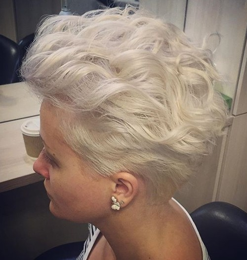 curls on short hair styles 40 bold and beautiful spiky haircuts for 5089 | 14 short bombshell curls