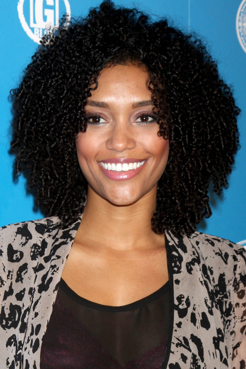 curly hair styles for black girls 30 picture black curly hairstyles 3047 | 8 medium length natural black curly hairstyle
