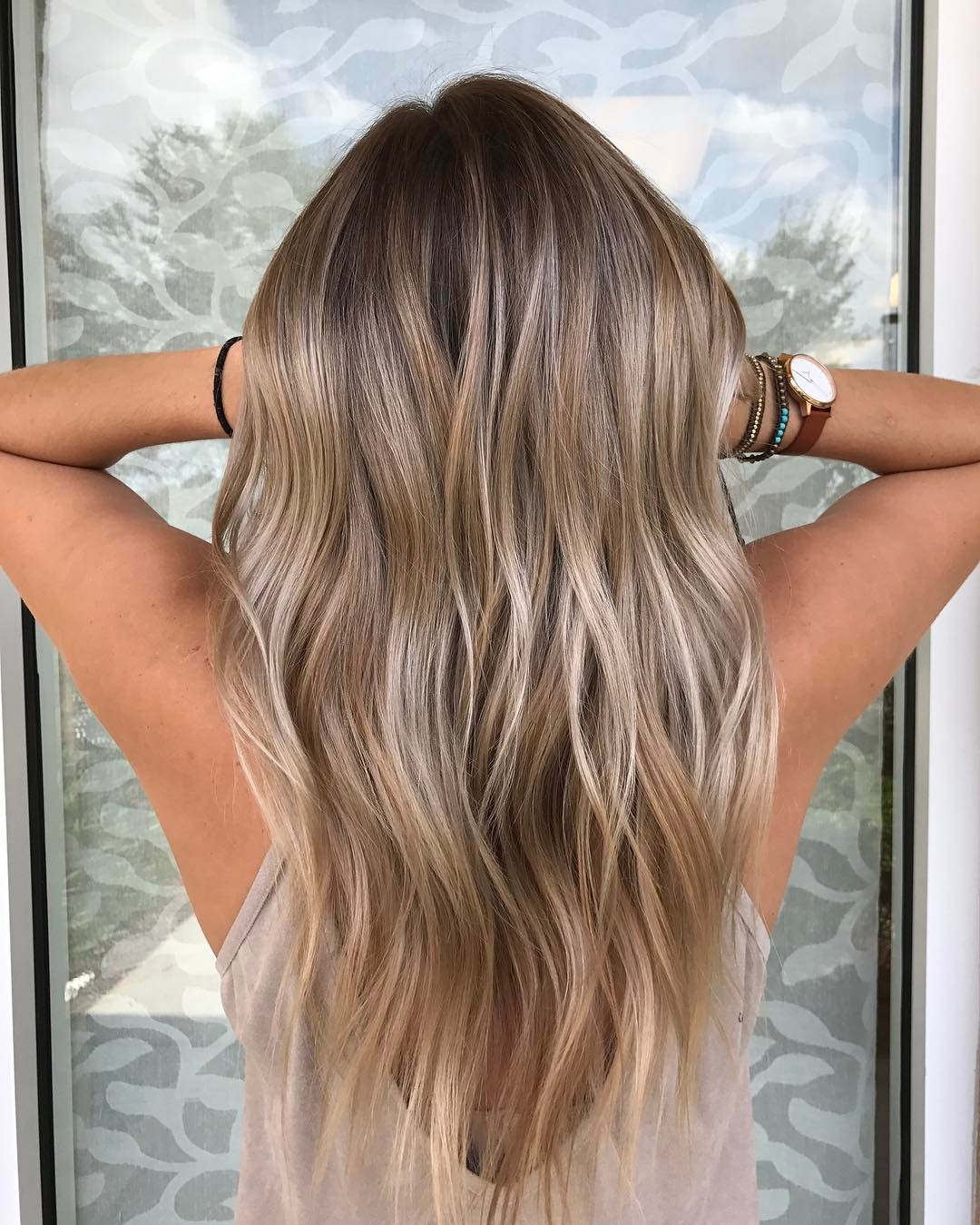 Bronde Balayage For Fine Hair