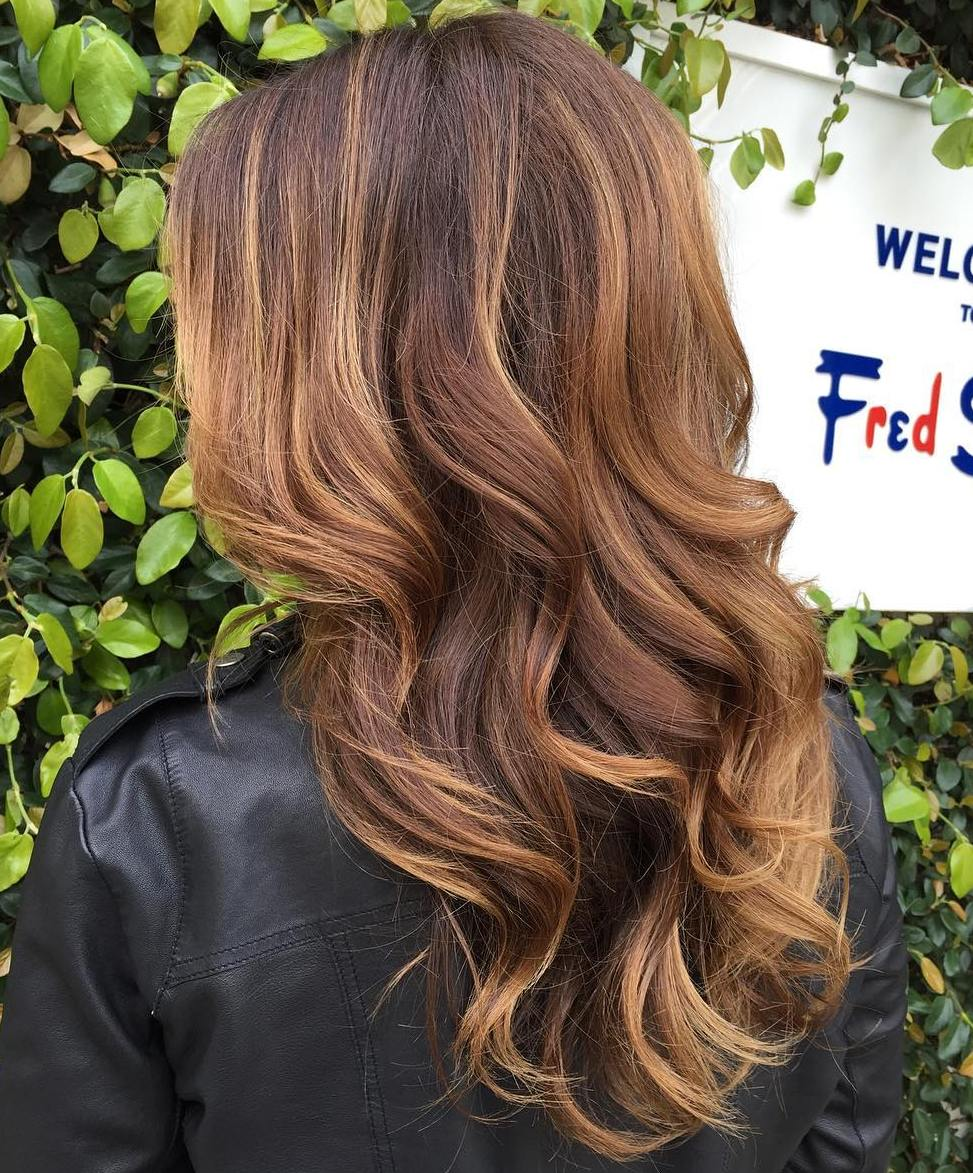 70 Balayage Hair Color Ideas with Blonde, Brown, Caramel ... - photo #5