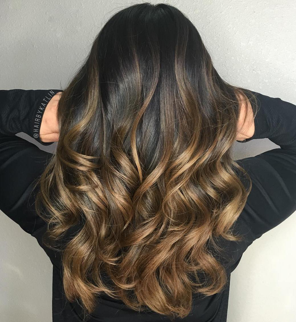 Brown Hair With Balayage Hair Color Ideas And Styles For 2018
