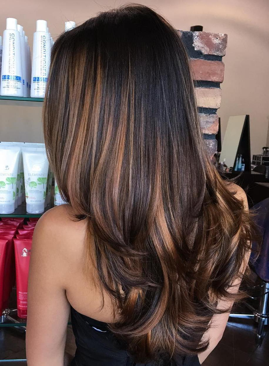 70 Balayage Hair Color Ideas with Blonde, Brown, Caramel ... - photo#35