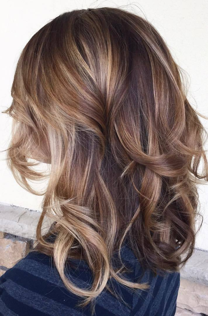 Pleasant 90 Balayage Hair Color Ideas With Blonde Brown And Caramel Highlights Hairstyle Inspiration Daily Dogsangcom