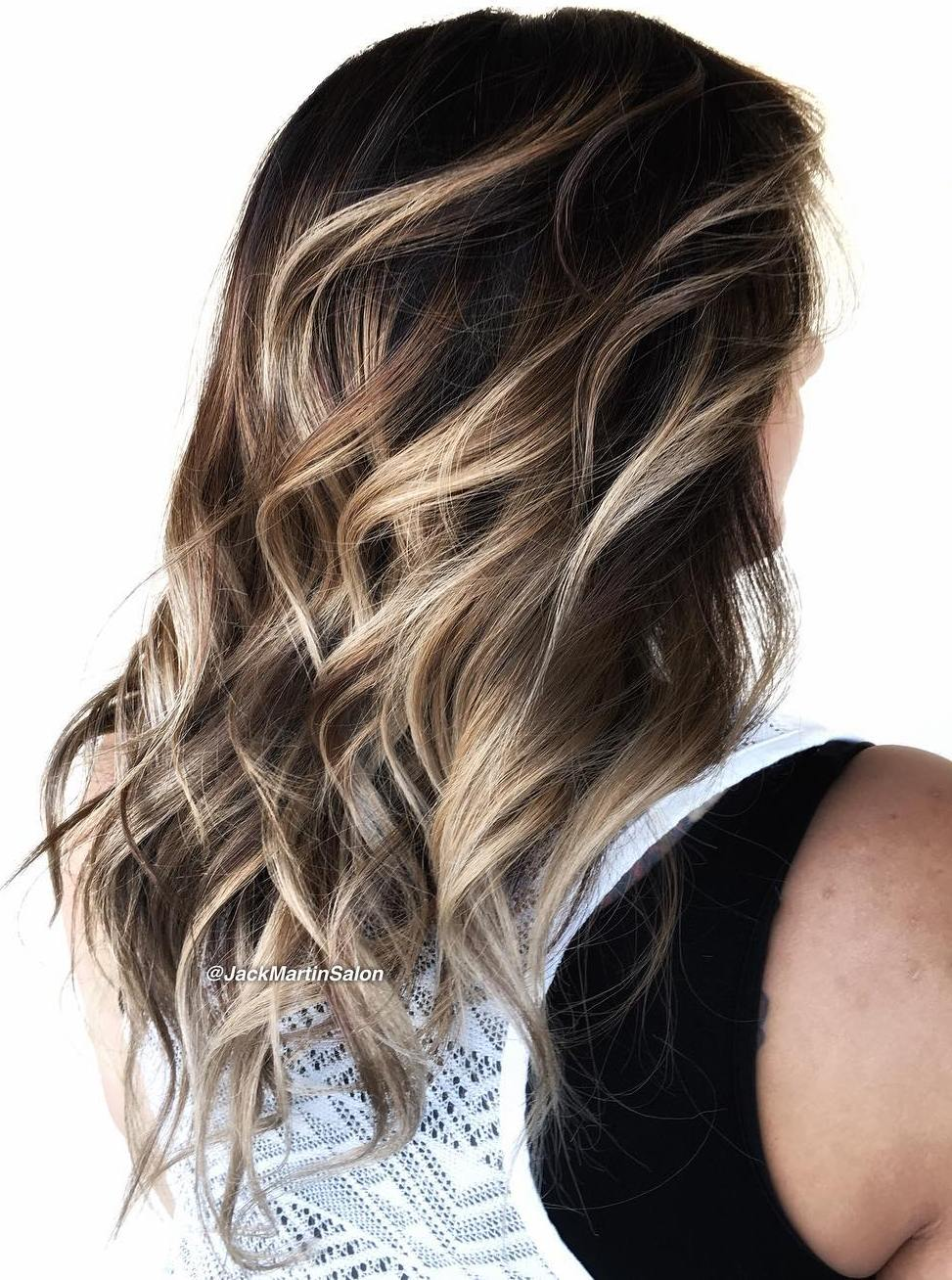 70 Balayage Hair Color Ideas with Blonde, Brown, Caramel ... - photo #31