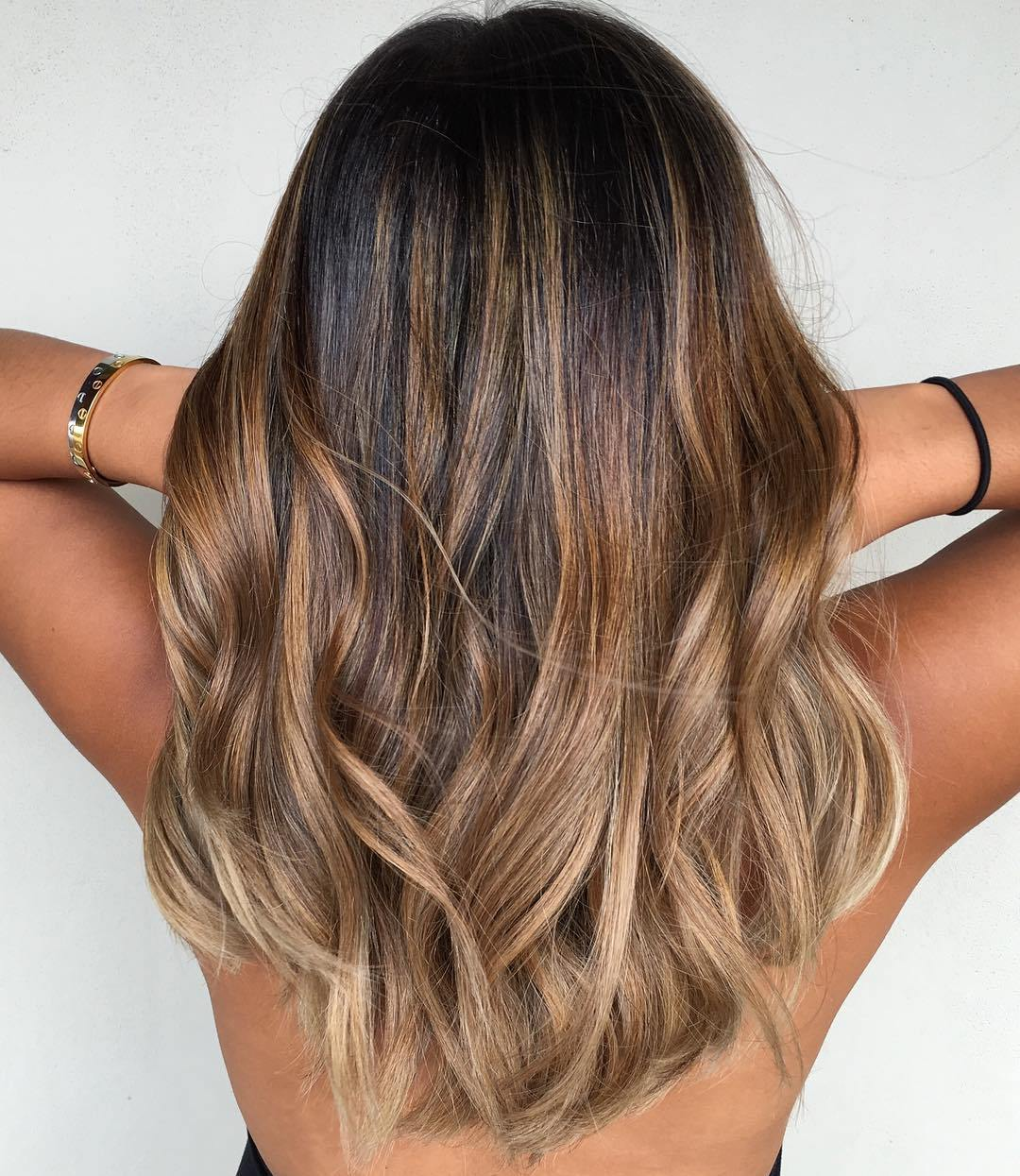 70 flattering balayage hair color ideas balayage for Balayage braun caramel