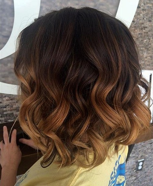 40 on trend balayage short hair looks - Coupe ombre hair ...