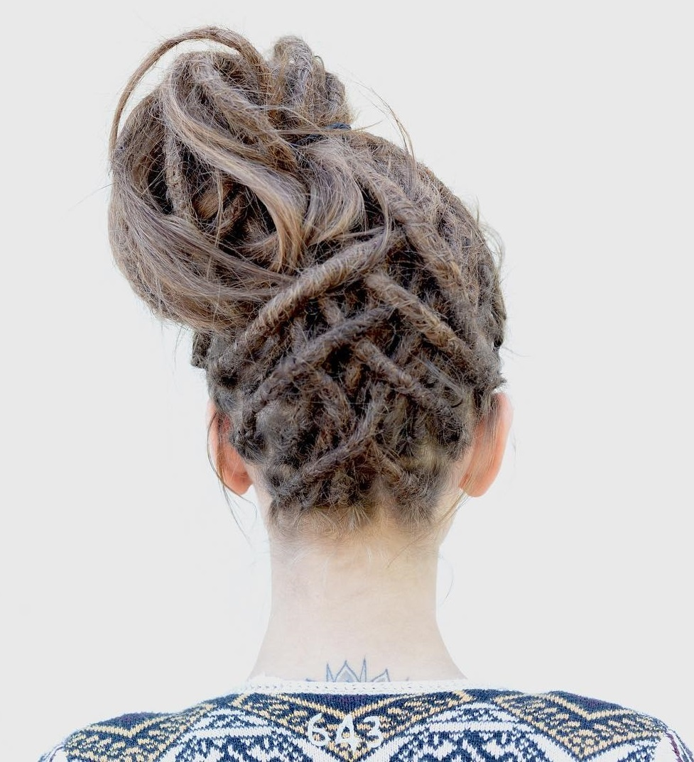 Wedding Hairstyles For Long Hair 24 Creative Unique: 30 Creative Dreadlock Styles For Girls And Women