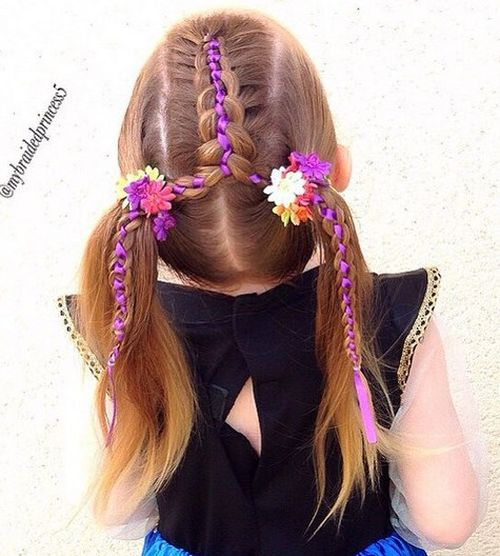 Enjoyable 20 Amazing Braided Pigtail Styles For Girls Hairstyles For Men Maxibearus