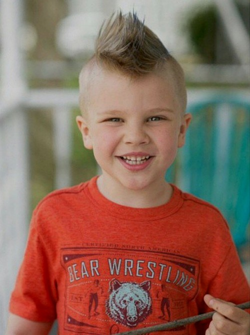 Miraculous 20 Awesome And Edgy Mohawks For Kids Short Hairstyles Gunalazisus